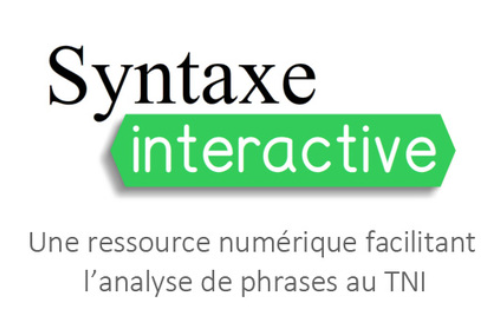 Syntaxe Interactive pour l'analyse de phrases