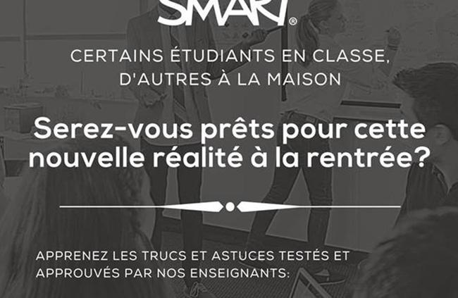 Webinaire : comment instaurer des classes virtuelles, présentielles et hybrides!