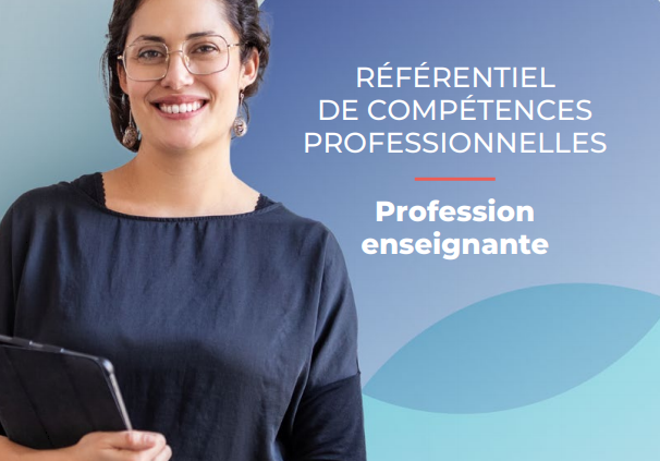 Nouveau référentiel des compétences professionnelles des enseignants