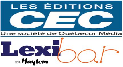 Utiliser Lexibar dans les cahiers numériques des Éditions CEC